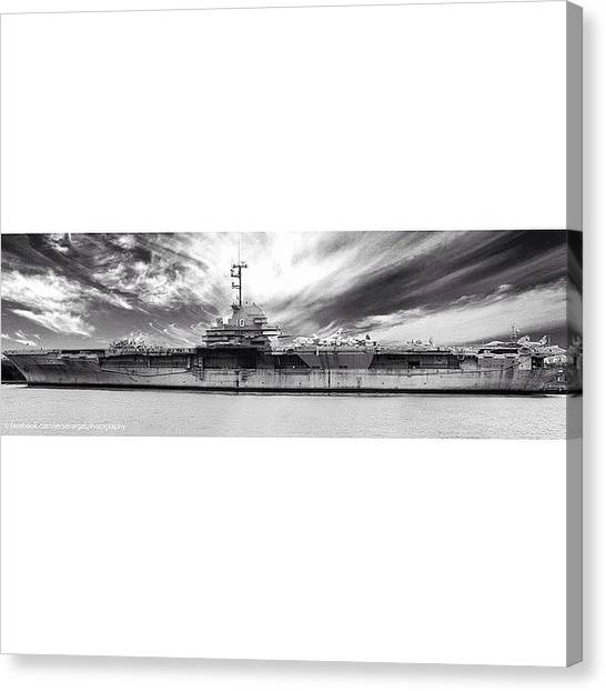 Battleship Canvas Print - One Of The Problems/limitations Of by Jesse Vargas