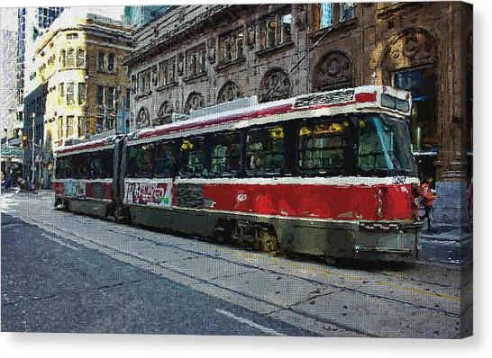 One Queen East Canvas Print