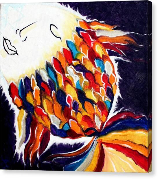 ONE Canvas Print by Sandra Yegiazaryan