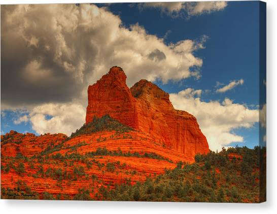 One Sedona Sunset Canvas Print