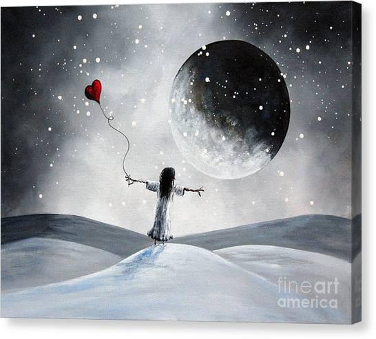 One Small Dream By Shawna Erback Canvas Print by Shawna Erback