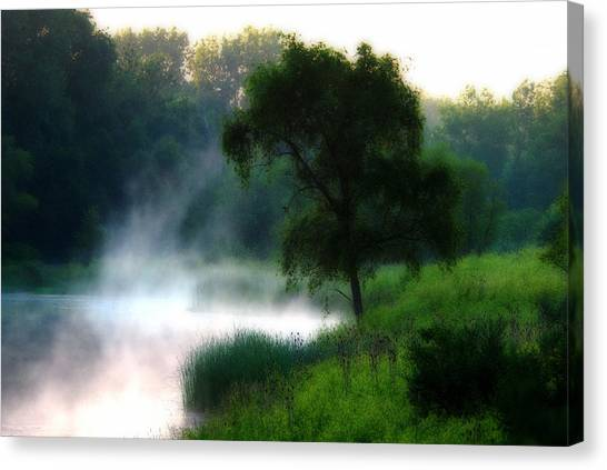 One Spring Morn Canvas Print