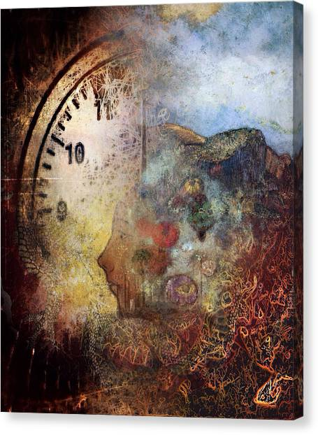 One Thought Fills An Immensity  Canvas Print by Dan Hill