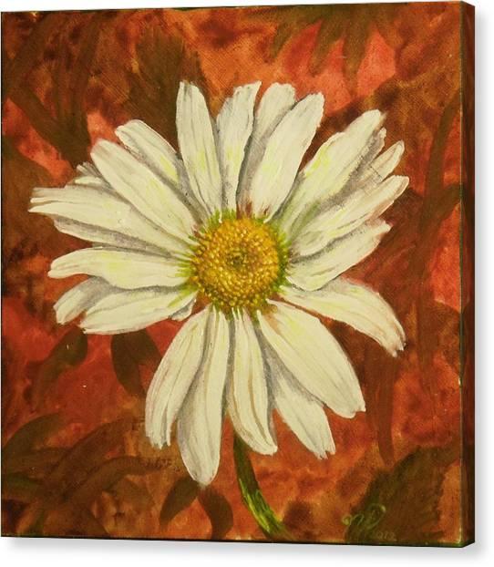 One Yorktown Daisy Canvas Print