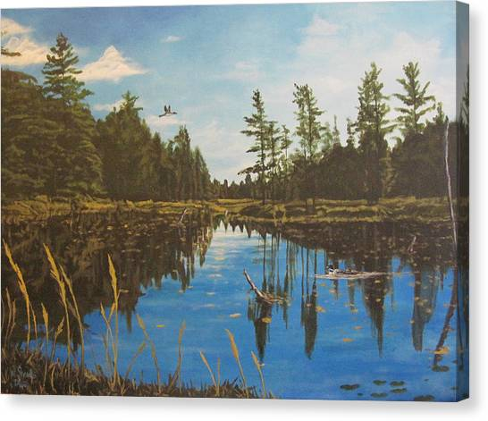 O'neal Lake Canvas Print