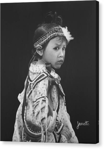 Oneida Girl Canvas Print