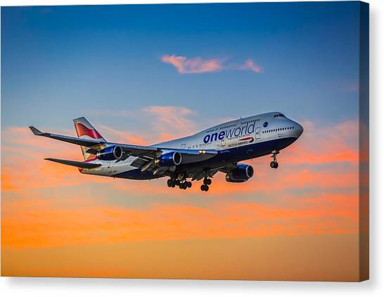 Oneworld Canvas Print by Neah Falco