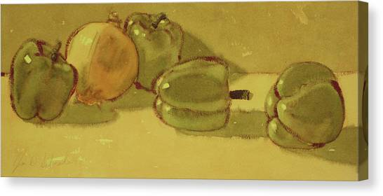 Onion And Bells Canvas Print