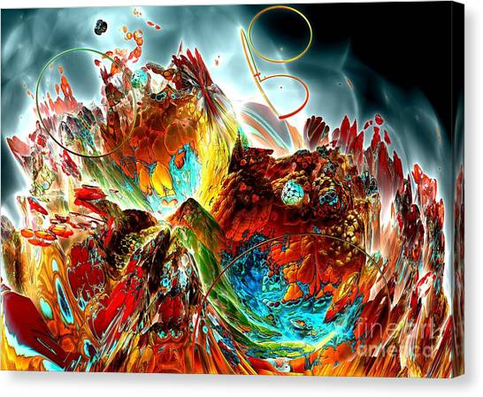 Oniric - 2 Canvas Print by Bernard MICHEL