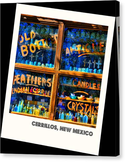 Indian Corn Canvas Print - Only In Cerrillos by Diana Angstadt