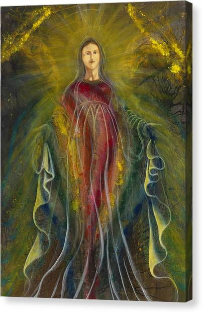 Only One Illuminates My Soul IIi Canvas Print