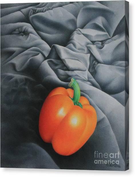 Only Orange Canvas Print