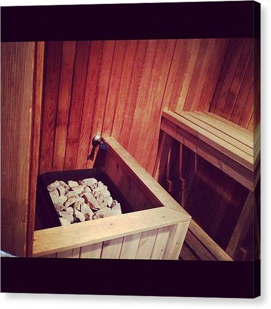 Canvas Print - Only Real N*gga In The Sauna With Jewels by Big Brother
