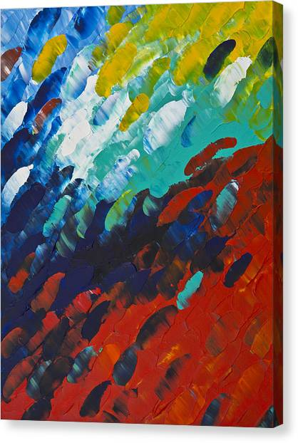 Oversized Canvas Print - Only Till Eternity 1st Panel by Sharon Cummings