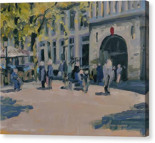Briex Canvas Print - Onze Lieve Vrouwe Plein Maastricht by Nop Briex
