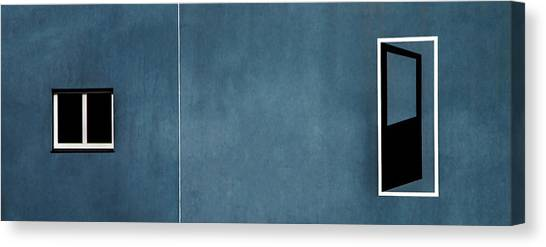 Holland Canvas Print - Open Door... No Access by Gilbert Claes