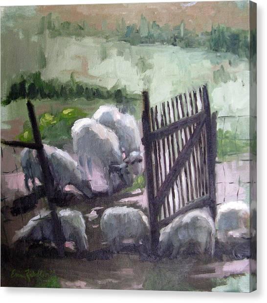 Open Gate Canvas Print