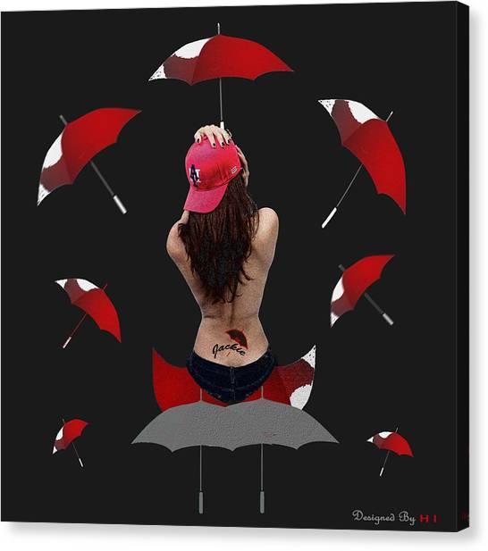 Hops Canvas Print - Open Mind From A Beauty Eye by HI Designs Amor Blu Group LLC