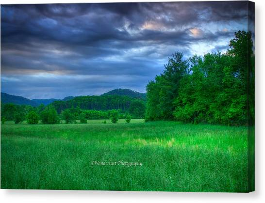 Open Pasture Canvas Print by Paul Herrmann
