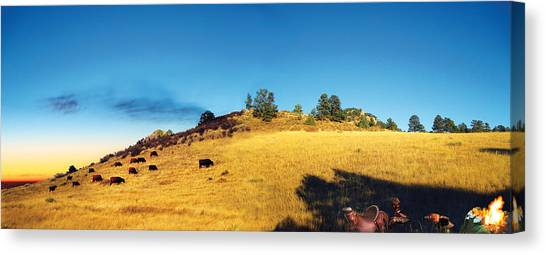 Open Range Canvas Print by Ric Soulen