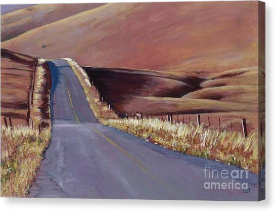 Open Road Canvas Print