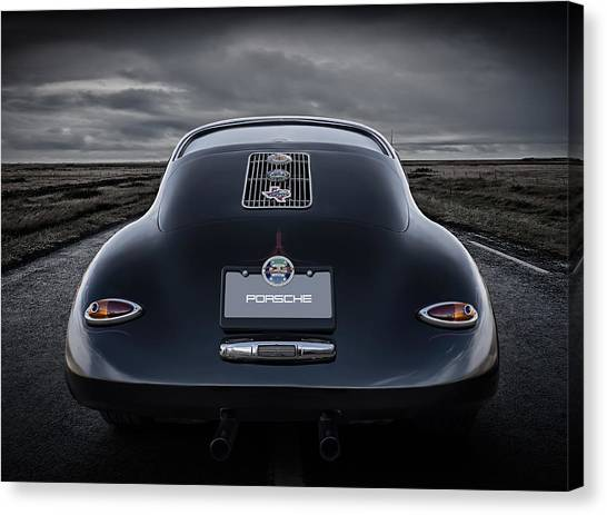 Porsche Canvas Print - Open Road by Douglas Pittman