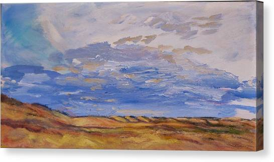 Looking Northwest Canvas Print
