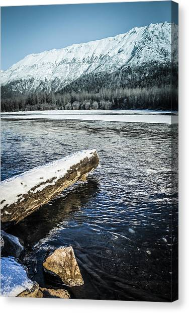 Open Water Canvas Print
