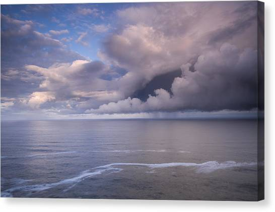 Storm Clouds Canvas Print - Opening Clouds by Andrew Soundarajan
