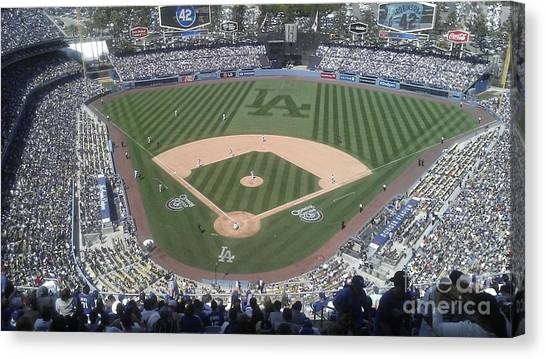 Opening Day Upper Deck Canvas Print