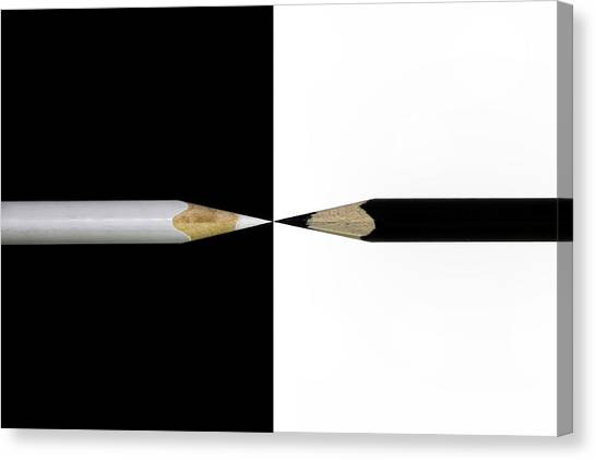 Pencils Canvas Print - Opposed by Udo Dittmann