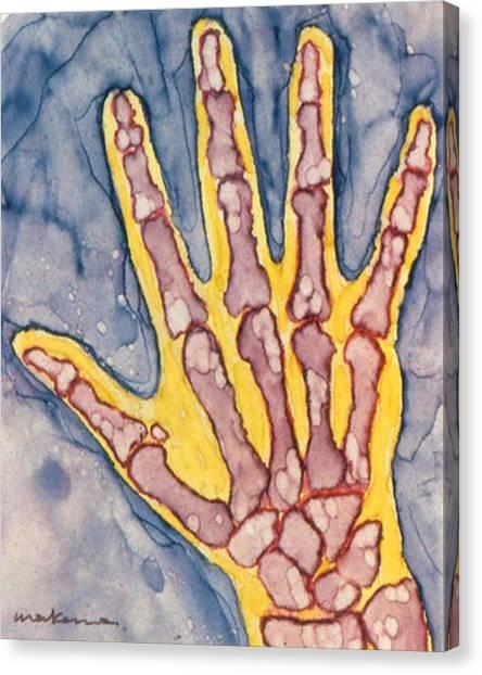 Opposing Thumb Canvas Print