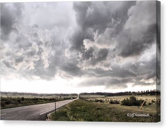 Opposite The Storm Canvas Print