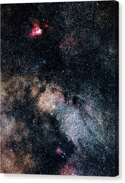 Omega Nebula Canvas Prints   Fine Art America