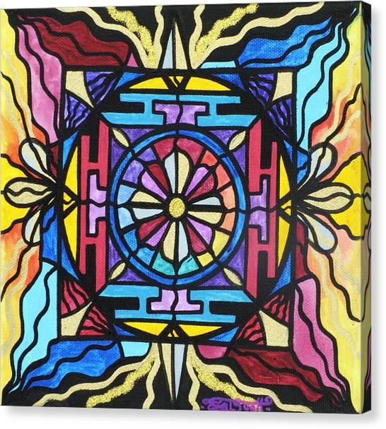 Sacred Geometry Canvas Print - Opulence by Teal Eye  Print Store