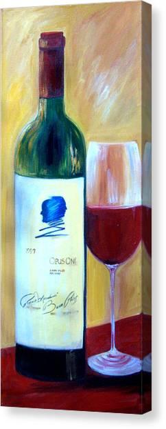Opus One  Canvas Print