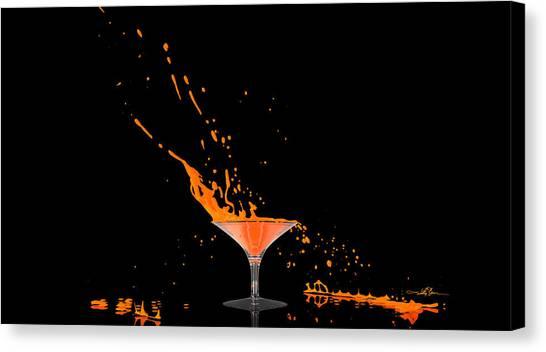 Orange-cident Canvas Print