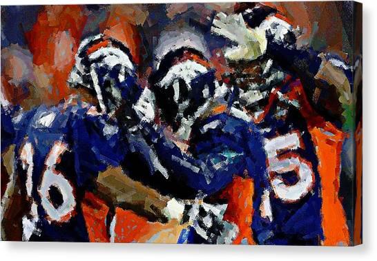 Orange Crush Canvas Print