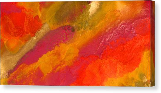 Orange Daydream Canvas Print