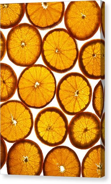 Orange Fresh Canvas Print