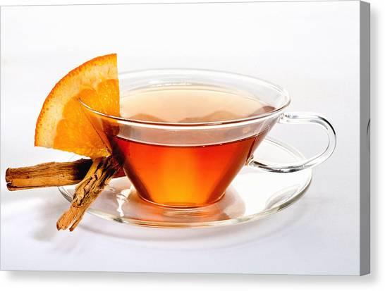 Orange Tea 5528 Canvas Print