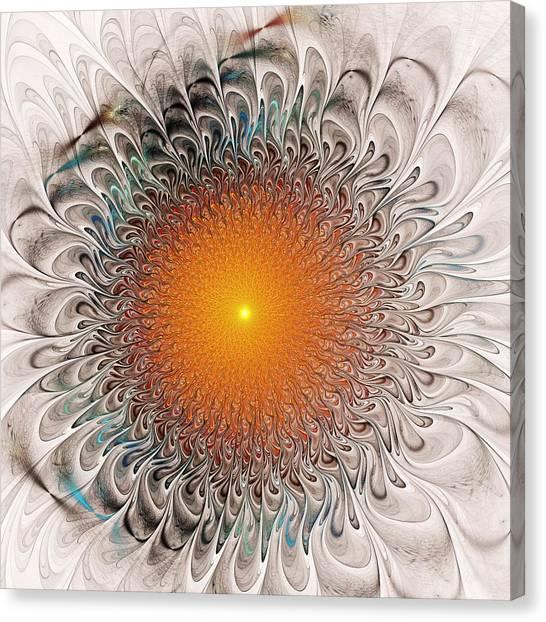 Orange Zone Canvas Print