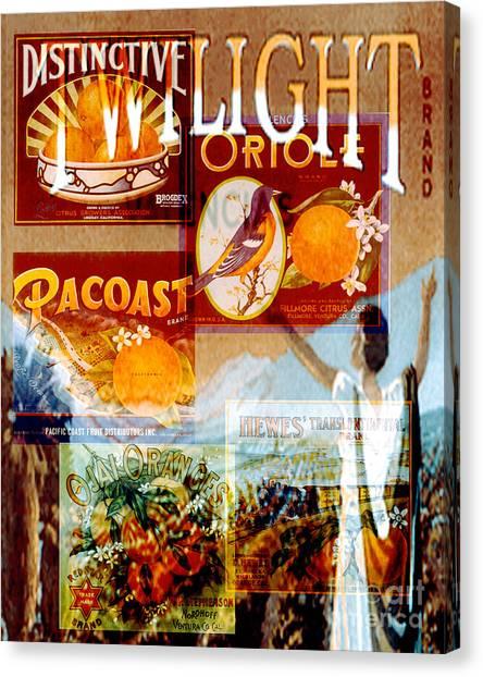 Oranges Canvas Print by David Mendoza