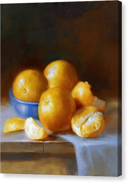 Oranges Canvas Print