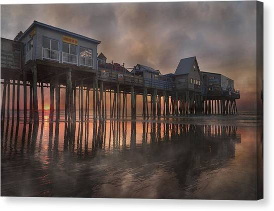 Orchard Canvas Print - Orchard Beach Glorious Morning by Betsy Knapp