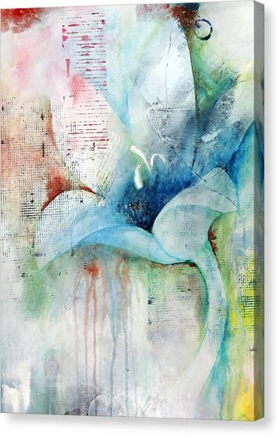 Orchid Fields IIi - D1 Canvas Print by Vivian Mora