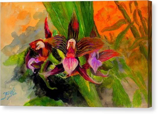 Orchiid Canvas Print