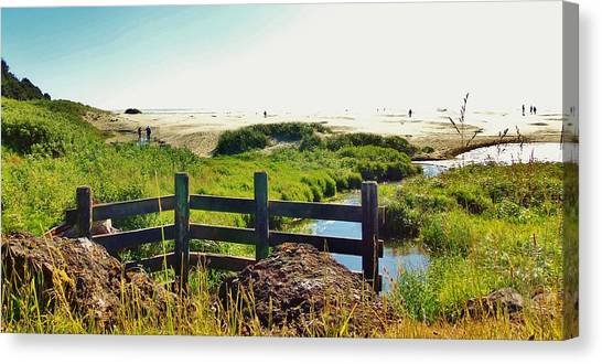 Oregon Beach 1 Canvas Print
