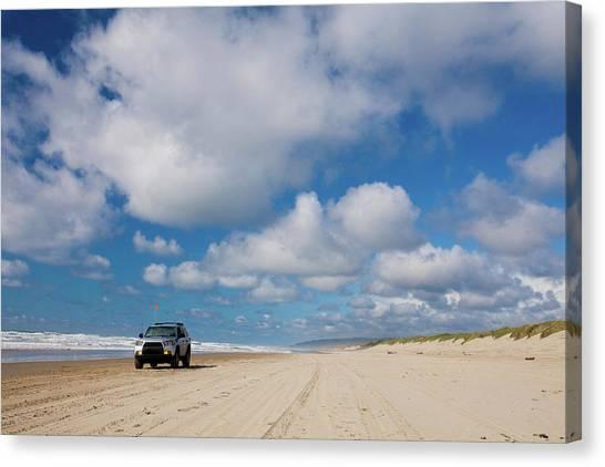 Offroading Canvas Print - Oregon Coast by Christopher Kimmel