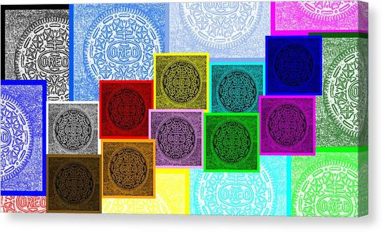 Nabisco Canvas Print - Oreo Hope Collage by Rob Hans